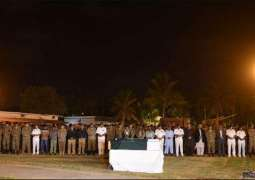 Martyrs' bodies were shifted to their hometowns