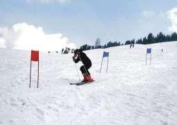 An eight-time national gold medalist runs tea stall at Malam Jabba peak