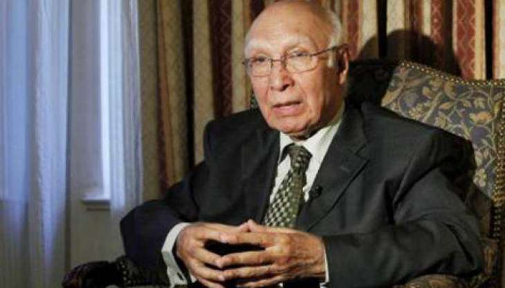 Pakistan will oppose India's stoke piling of weapons, Sirtaj Aziz stated.
