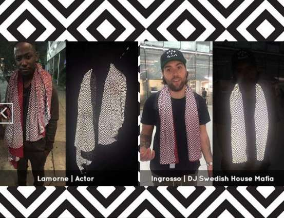 Celebs obsessed by the invisible scarf