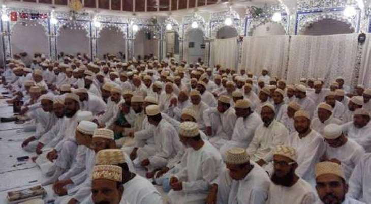 Bohri community celebrated Eid-ul-fitr today in Karachi