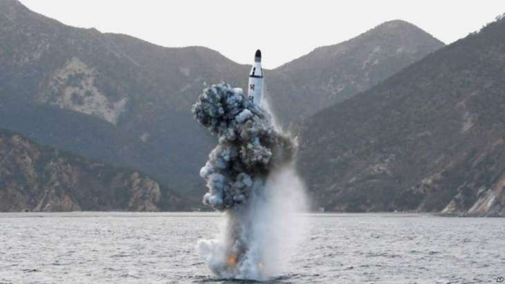 Japanese Prime Minister has condemned North Korean submarine missile test