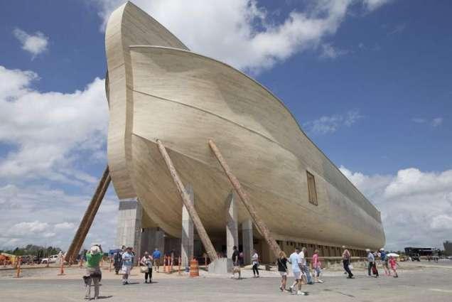 Replica of Noah's boat in Kentucky