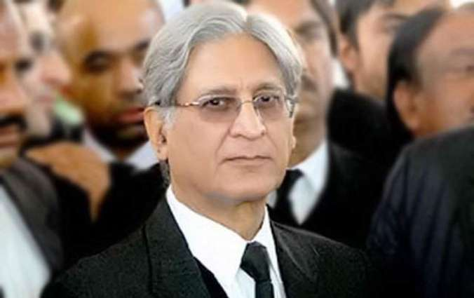 Aitzaz Ahsan demands the arrest of Move on Party members