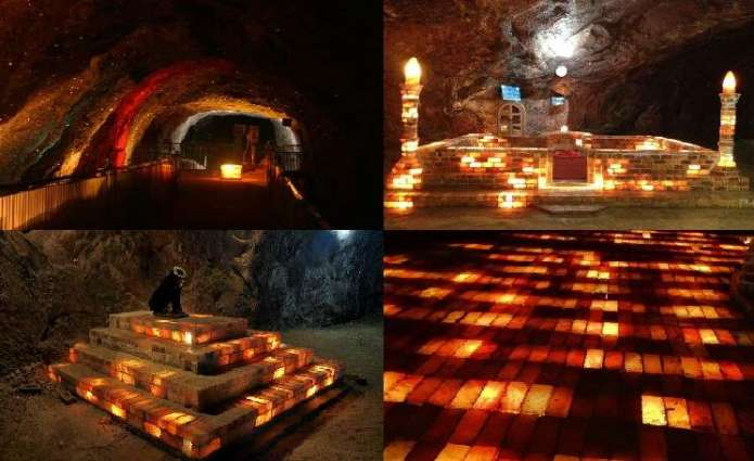 Khewra, the world's second largest salt mine