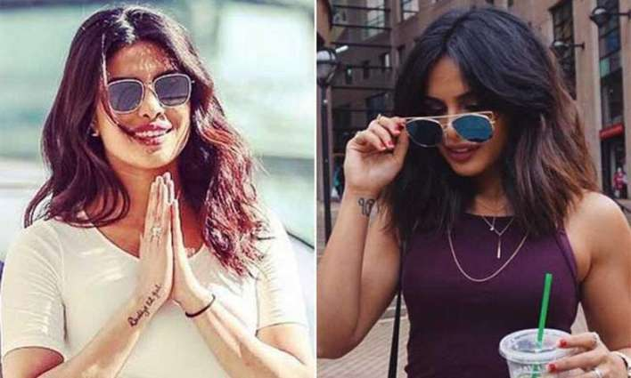 Popularity of Priyanka's duplicate on the Internet