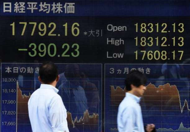 Tokyo stocks close lower after six-day rally