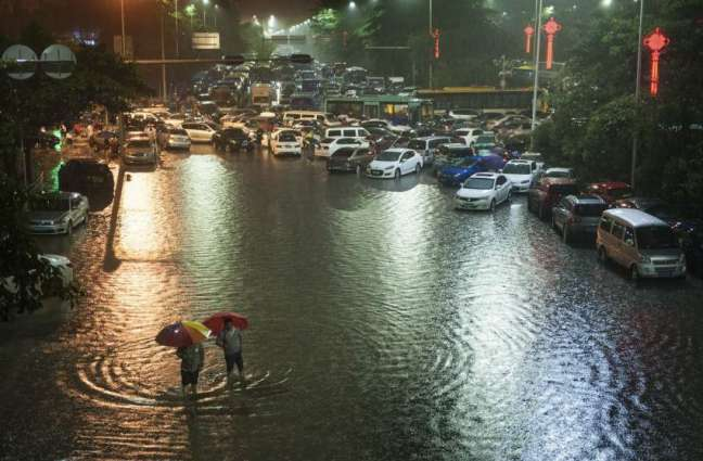 Flooding causes chaos in southwestern China