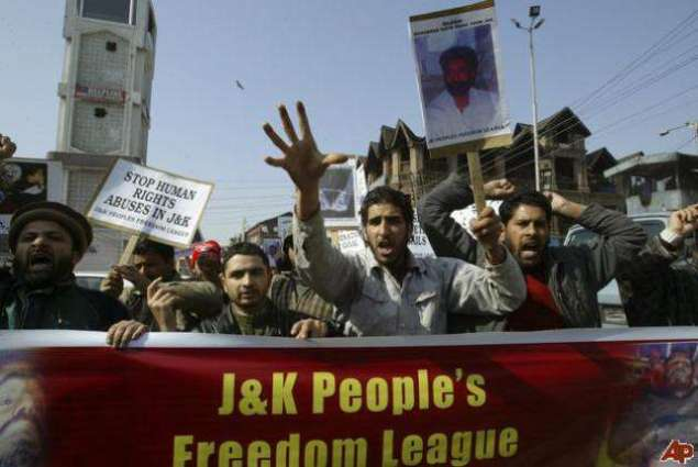 Citizens express solidarity with Kashmiri brethren