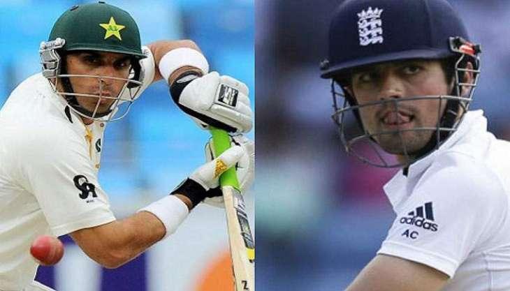 پاکستان و انگلینڈ نا نیام اٹ ارٹ میکو ٹیسٹ (پگہ )بنا ء کیک