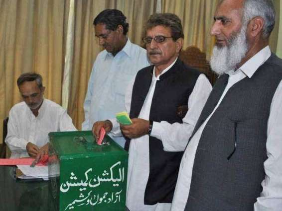 All set for AJK elections in Sialkot