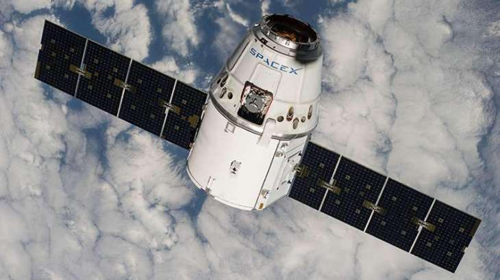 SpaceX cargo ship arrives at space station