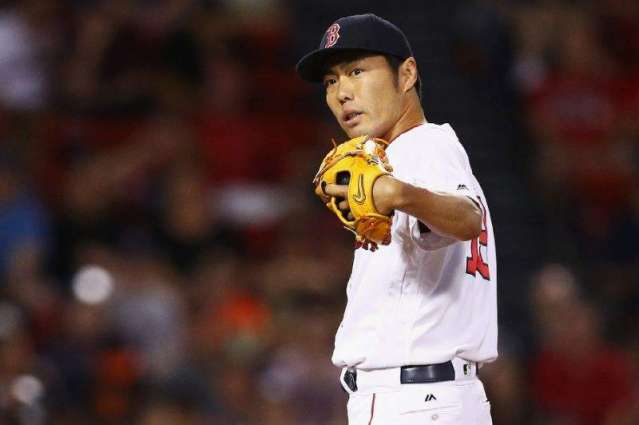 Baseball: Red Sox lose pitcher Uehara to pectoral strain