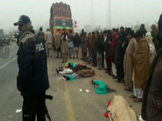 Five of a family killed in Ghazi road accident