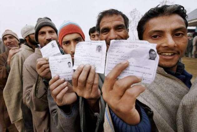 Polling in Azad Kashmir begins