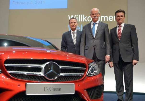 Daimler drives on to record sales