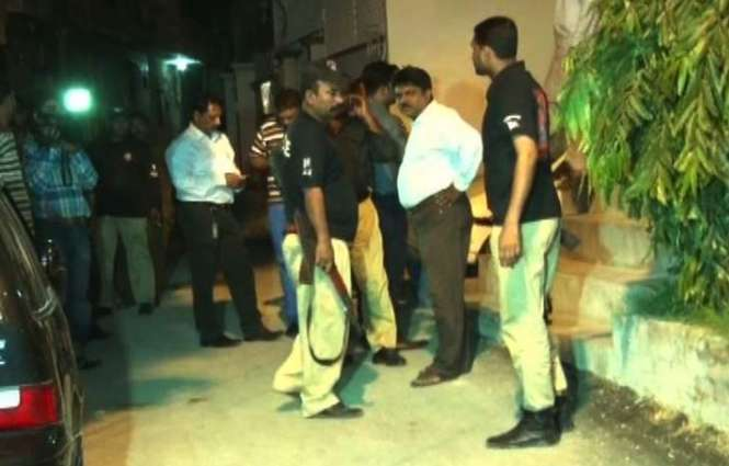 Karachi police arrested the son of MQM's leader