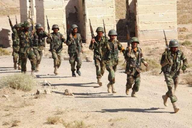 افغانستان وچ سکیورٹی فورسز دے کلیرنس آپریش دے دوران داعش اتے طالبان دے 64 جنگجو ہلاک