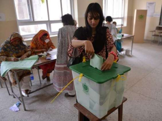 Officials reviewed polling process
