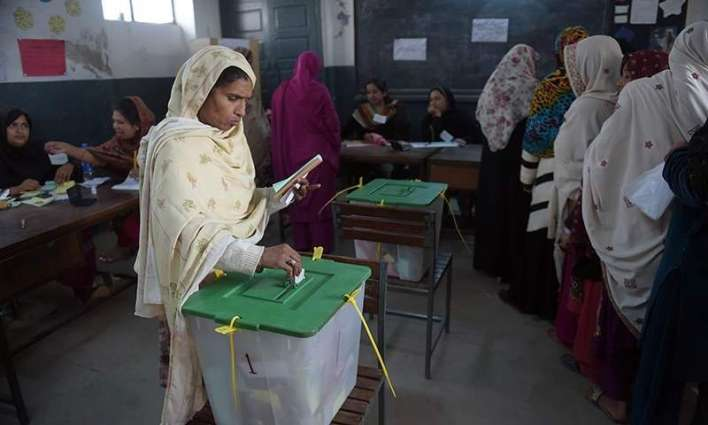 Polling for AJK general elections continues in Karachi