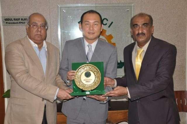FPCCI appreciates Chinese role in socio economic development of Pakistan