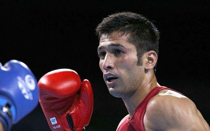 Speaker Balochistan Assembly meets boxer Waseem