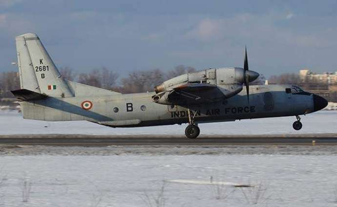 Indian air force says plane goes missing with 29 on board