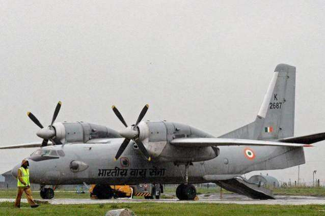 Indian air force plane goes missing with 29 on board