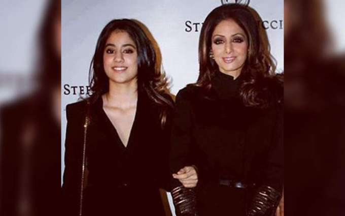 Another social media sensation created by Sridevi's daughter Jhanvi