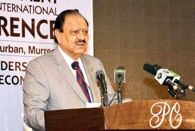 President condoles demise of Meraj M Khan