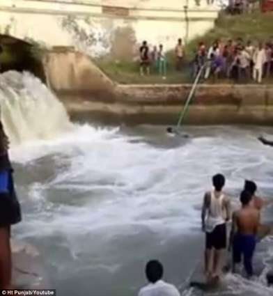 Seven youths rescued from river