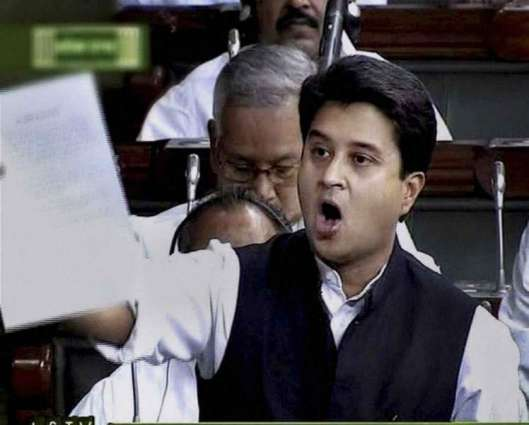 Jyotiraditya Madhaverao Scindia raises the issue of Kashmir