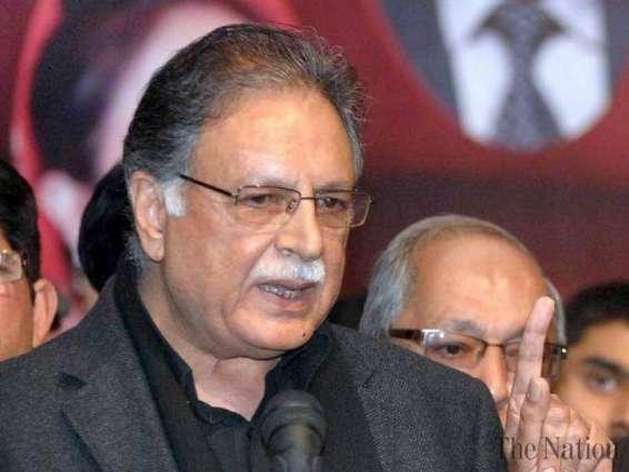 وزير الإعلام برويز رشيد يعزي في وفاة معراج محمد خان