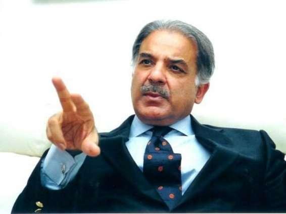 وزیراعلیٰ پنجاب شہبازشریف دا بزرگ سیاستدان معراج محمد خان دی انتقال تے تعزیت