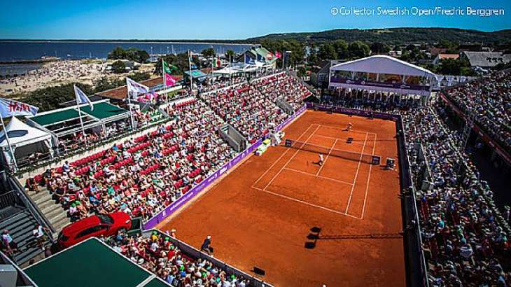 Tennis: Bastad WTA results
