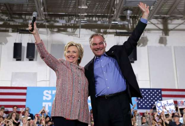 Hillary Clinton picks Senator Tim Kaine for running mate: official