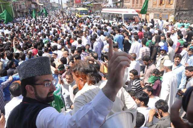 Mirwaiz denounces continued killing spree in IOK