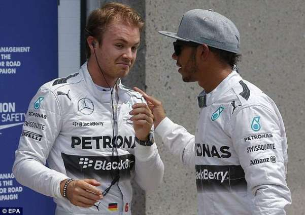 Formula One: Rosberg edges Hamilton in Hungary chaos