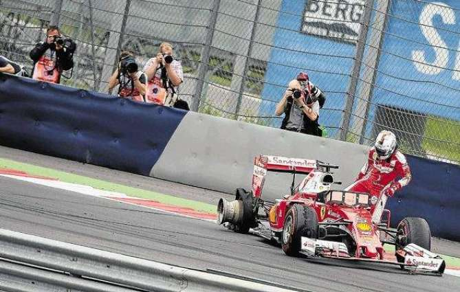Formula One: Vettel blames 'sleeping' Button for last-lap block