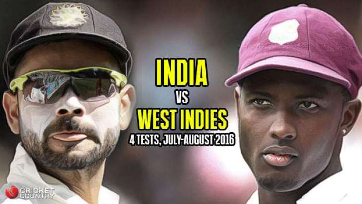 Cricket: Windies 90-3 at lunch in reply to India's 566-8