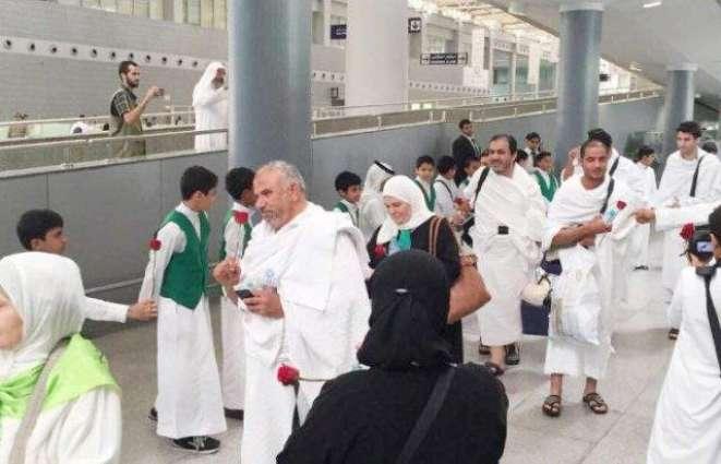 6.3m Umrah pilgrims passed thru Jeddah airport in 9 months
