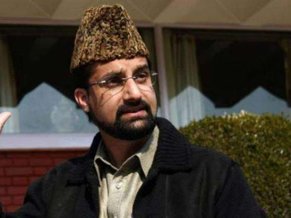 Don't blame Pakistan for Kashmir uprising, Mirwaiz tells India