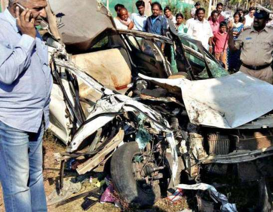 Two killed, three injured in accidents