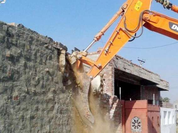 RCB confiscates seven truckload goods under anti-encroachment operation