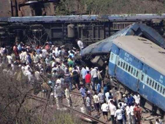 اتردیش اچ منی بس تے ٹرین وچال ٹکر پاروں 7طالب علم ہلاک ،12زخمی