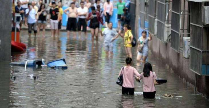 چین اچ ودھ سارے مینھ تے سیلاب پاروں 18 بندے ہلاک، 10 لاپتہ