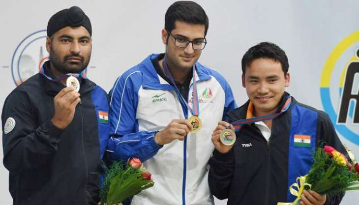 KP wins bronze medal in 5th National Youth Shooting Championship