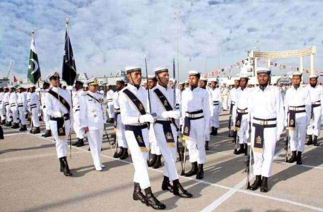 """پاک بحریہ دی جنگی مشق """"شمشیر بحر""""VI دا کراچی اچ باقاعدہ آغاز"""