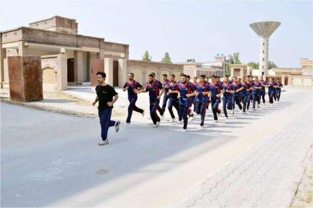 KP IGP visits Police Training School Swabi