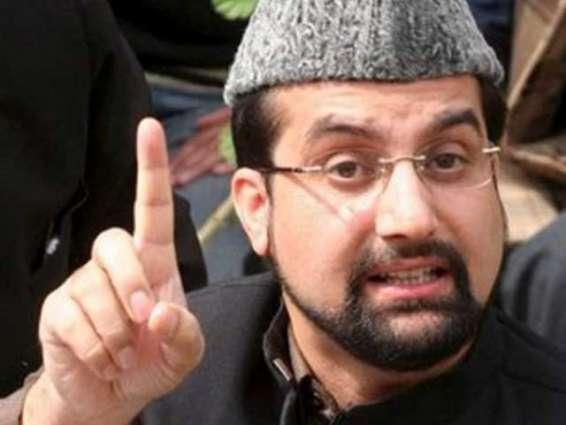 ميرواعظ عمر فاروق: باكستان تدعم كفاح الكشميريين لحقهم في تقريرالمصير